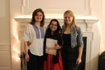 Eliza, Jiya, and Kalya Celebrate their First Issue Together