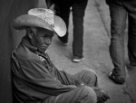 Man in Bolivian Market/Forest Jarvis