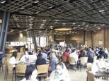 People enjoying Asian cuisine
